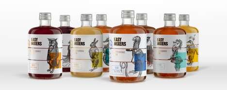 Pharmaceutical Cocktail Mixer Branding
