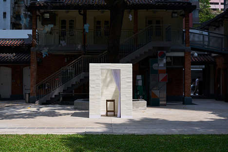 Waxed Brick Confessionals - 'The Confessional' Features a Church-Inspired Booth Made of Wax Bricks