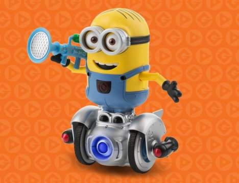 Cartoon Programming Toys - This Minion Coding Toy Flatulates on Command