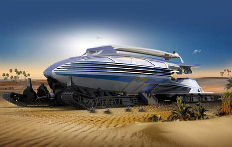 Desert Landscape Vehicles