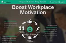 Motivational Workplace Feedback Platforms - 'Tap My Back' Enables Peer-to-Peer Recognition