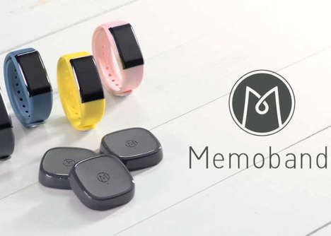 Specific Activity-Tracking Wearables - The 'Memoband' Tracks the Various Activities You Do Each Day