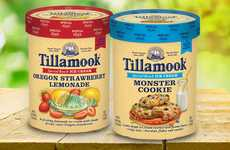 Nostalgic Flavor Ice Creams - These Tillamook Special Batch Ice Creams are Limited-Edition
