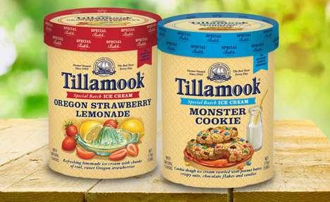 Nostalgic Flavor Ice Creams