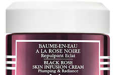 Epidermis-Penetrating Rose Creams - Sisley Paris' Black Rose Cream Promotes Radiance in the Skin