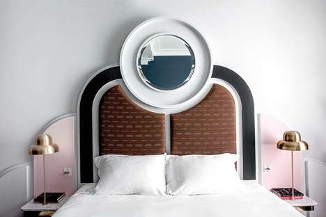 Retro-Styled Boutique Hotels - London's Henrietta Hotel Epitomizes 1970's Glamor