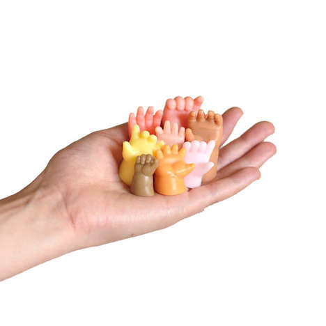 Quirky Hand-Shaped Soaps - This Novelty Hand Soap is Molded Like Tiny Hands