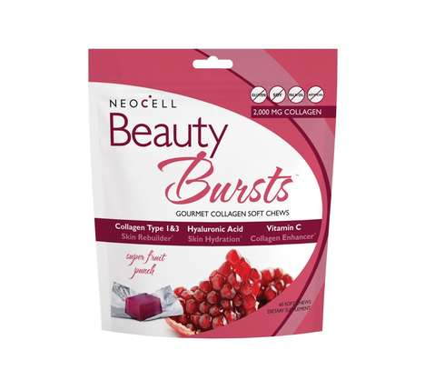 Collagen-Infused Soft Chews - Neocell's Healthy Candy Chews are Infused With Beautifying Ingredients