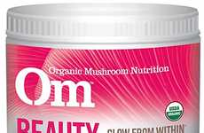 Beautifying Mushroom Powders - Om Organics Mushrooms' Matrix Drink Powder Aids With Detox Efforts