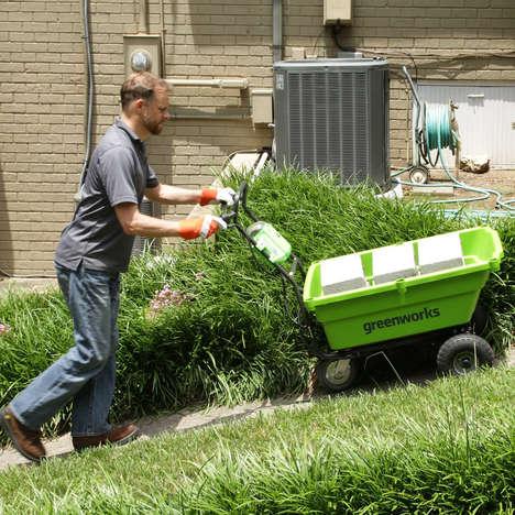 Powered Garden Wheelbarrows