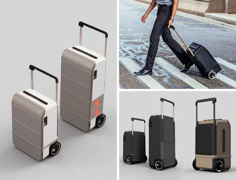 Expanding Carry-On Suitcases - The 'XTEND' Suitcase Shifts Size to Shrink or Grow as You Need
