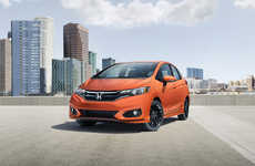 Tech-Focused Subcompact Cars - The 2018 Honda Fit Sport Features Honda Sensing Technology
