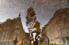 Reflective Rainy Day Photography - Photographer Andreas Kamoutsis Captures Images Through Water