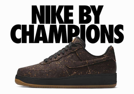 Celebratory Cork Sneakers - Nike Released These Sneakers to Celebrate Golden State's NBA Finals Win