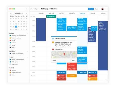 Data-Culminating Calendar Apps