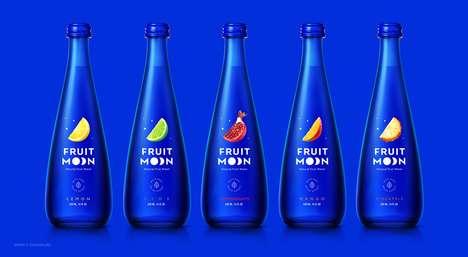 Conceptual Moon Water Drinks