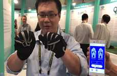 Translating Smart Gloves - These Smart Gloves Translate Hand Gestures into Text
