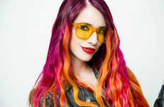 Mood-Boosting Sunglasses - Rainbow Optx's Colored Sunglasses Lens Options Support the Chakras