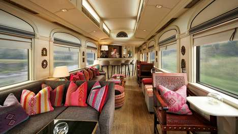 Lavish Sleeper Trains - The Belmond Andean Explorer is a Luxury Hotel Inside a Train