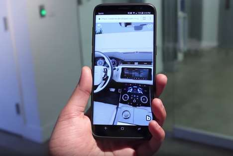 Smartphone Test Drives - Jaguar Land Rover Now Lets Consumers Test Drive Vehicles Using a Phone