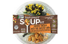 Pre-Made Lunch Kits - Ready Pac Foods' Fresh Prep'd Brand Offers Easy-to-Make Wraps and Soups