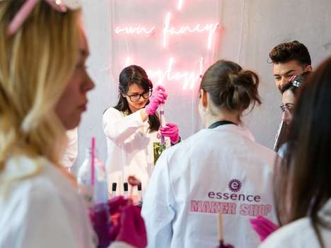 Fast Beauty Maker Labs - The Essence Maker Shop Invited Fans to Co-Create Products In-Store
