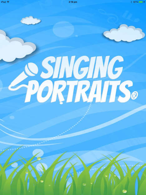 Musical Greeting Card Apps - 'Singing Portraits' Helps Kids Send Special Heartwarming Songs