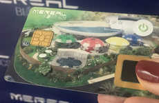 Biometric Casino Cards - France's Pleinair Casino is Implementing Cards with Fingerprint Sensors