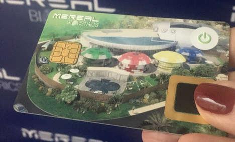 Biometric Casino Cards