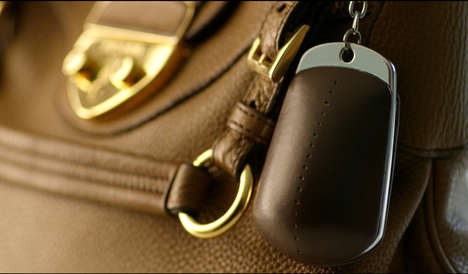 Ink-Squirting Purse Attachments - This Handbag Accessory was Designed to Catch Thieves Red Handed