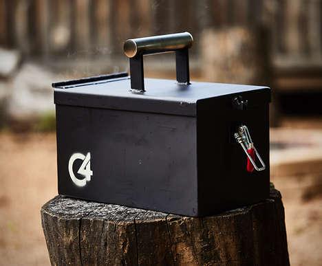 Portable Ammo Box Grills