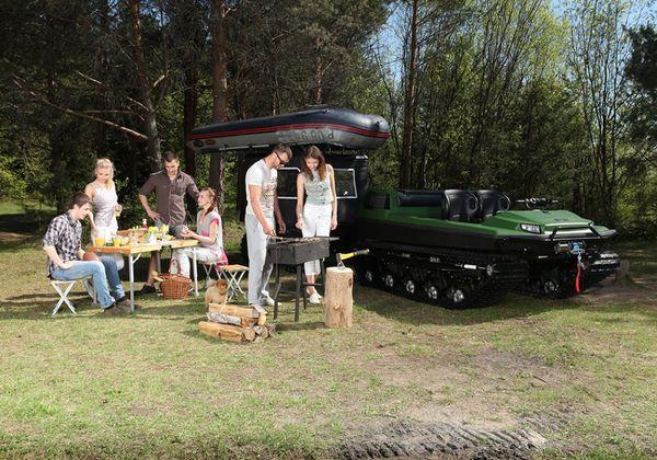 Armored Track ATVs : Tinger Track C500