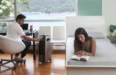 Low-Power Air Conditioners - 'Quilo' Compact Fans Cool in the Summer and Humidify in the Winter