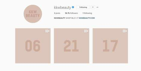 Instagram Beauty Announcements - The KKW Beauty Launch Is a Welcome Surprise to Kim K Fans