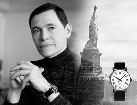 City-Inspired Timepieces - The Grand New Yorker Luxury Watch Collection Pays Homage to the Big Apple