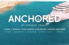 Cruise Ship Music Festivals - 'Anchored 2017' is a Floating Festival Hosted by Unique Cruise