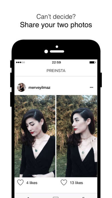Social Media Testing Apps - 'PreInsta' Lets Users A/B Test Their Photos Before Posting