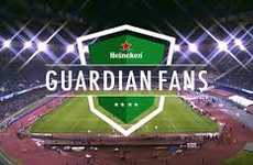 Athlete Security Service Stunts - Heineken's Guardian Fans Protect the Homes of Soccer Players
