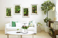 Indoor Purification Gardens - The 'Green Pet' Monitors Air Quality and Keeps Plants Thriving