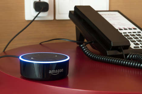 Smart Hotel Rooms - Best Western is Experimenting with Adding Amazon Dot to Suites