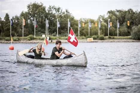 3D-Printed Concrete Canoes - ETH Zurich Developed an Ultra-Lightweight 3D-Printed Canoe
