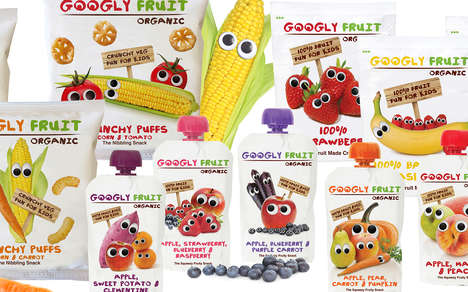Friendly Produce Snack Packaging