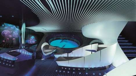 Multisensory Cruise Ship Lounges