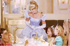 Cruise Ship Tea Parties - Disney Cruise Line's 'Royal Court Royal Tea' Features Iconic Characters