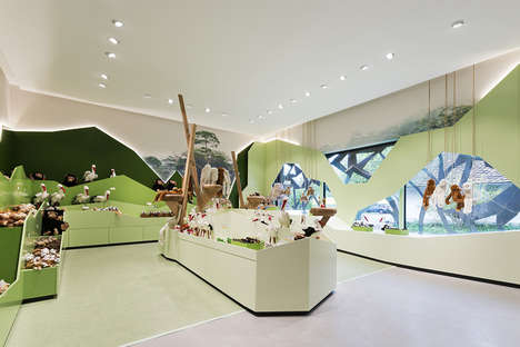 Monkey Reserve Gift Shops - The New Affenberg Salem Gift Shop Was Designed by Konrad Knoblauch