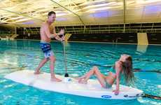 Streamlined Gliding Paddleboards