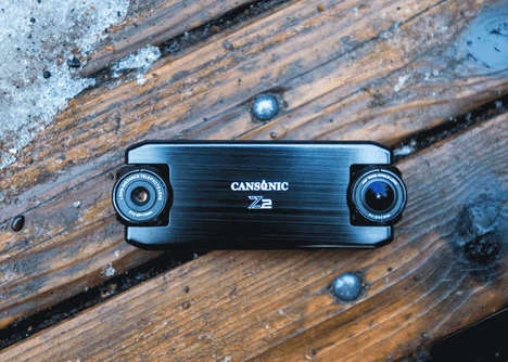 Dual-Lens Car Dash Cams - The Cansonic 'UltraDuo Z2' Offers Two Cameras to Capture Everything