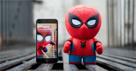 Connected Superhero Toys - The Sphero Spider-Man Toy Connects to a Network for Software Updates
