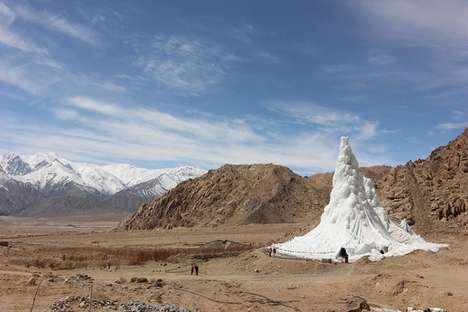 Rural Man-Made Glaciers - These Artificial Glaciers are Supplying Water to Rural India