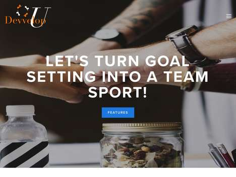 Social Goal-Oriented Apps - The 'DevvelopU' App Turns Development Goals into a Social Affair